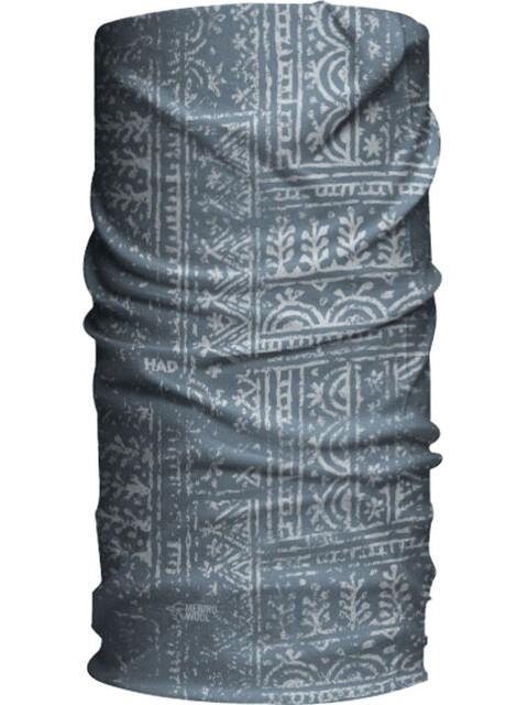 HAD Merino Tube Scarf woodcut grey